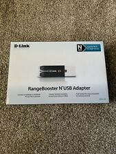 D-Link RangeBooster N USB Adapter DWA-140 (N300) 802.11n Wireless Original Box