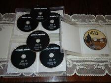 MINT Star Wars 1-7 DVDs Episodes I,II,III,IV,V,VI,VII (READ) The Force Awakens