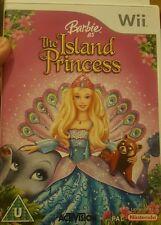 BARBIE  Island Princess Nintendo Wii Boxed & Instructions