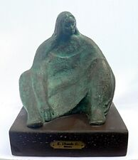 Estela Ubando Coria b.1939 Mexico Bronze Woman Sculpture ONLY 4/6