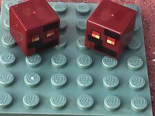 Lego Minecraft 4x Squelette Tête Cube Neuf!!! 19729pb004