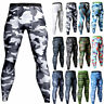 New Mens Sports Gym Skin Tights Compression Base Under Layer Workout Long Pants