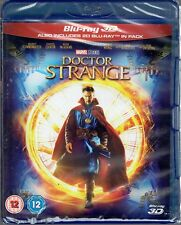 DOCTOR STRANGE Brand New 3D (and 2D) BLU-RAY Movie Marvel Studios 2016 MCU Dr.
