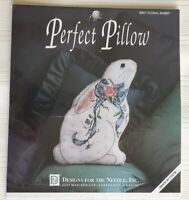 NEW Designs for the Needle Cross Stitch Kit Perfect Pillow Floral Rabbit 8801