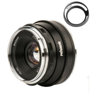 Pergear 25mm F1.8 Manual Lens for Sony E-Mount A6000 A5100 A6300 A6500