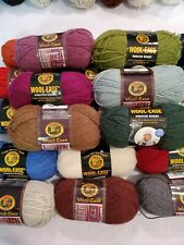Lion Brand Wool Ease Worsted Yarn. 3 oz. , 20 colors to choose from.