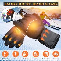 Elektrisch Beheizt Handschuhe Warm Hand Wasserdicht Touchscreen Batterie