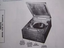 EMERSON 703B PHONOGRAPH PHOTOFACT
