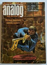 Analog Science Fiction Magazine August 1966 Too Many Magicians Randall Garrett