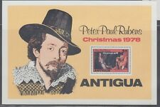Antigua 1978 Christmas Painting MS Sc 527  Mint never hinged