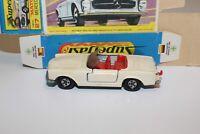 Vintage Lesney Matchbox Superfast No. 27 A Mercedes 230SL - Rare Cream - Box