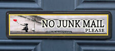 Banksy Hope Polite No Junk Mail Letterbox Leaflet Menus Flyers Door Sticker