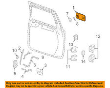 Hummer GM OEM 03-09 H2-Outside Exterior Door Handle Left 25845866