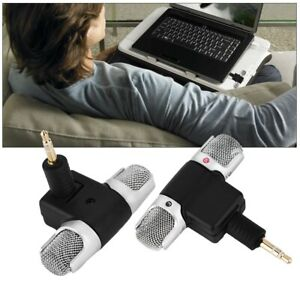 Portable Mini Wireless Stereo Voice Mic Microphone w/ 3.5mm Jack For Smart Phone