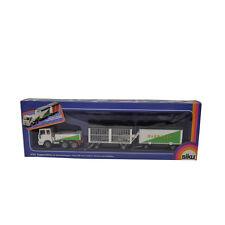 Siku #3722 Quality Models 1:55 White Diecast Zugmaschine Circus Trailer Truck