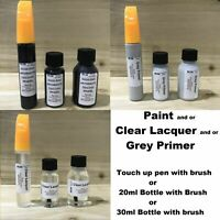 ANTHRACITE ALLOY WHEEL TOUCH UP KIT REPAIR KIT PAINT PEN BRUSH CURBING SCRATCH