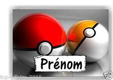 Plaque de porte en ( sur ) bois  Pokémon  avec prénom   N° 146