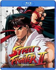 STREET FIGHTER II 2 THE ANIMATED MOVIE New Sealed Blu-ray
