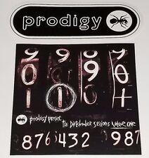 Prodigy 2 Promo Sticker Lot Sex pistols Primal Scream Punk Indie electro lp cd