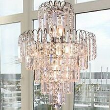 Ornate Luxury Ceiling lamp  6 lights lighting Fixture Crystal Chandelier Pendant