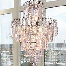 Fixture Crystal Chandelier Pendant 6 lights lighting Ornate Luxury lamp USA