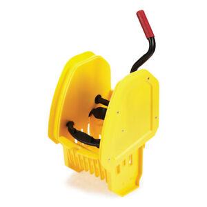 Rubbermaid Down-Press Wringer For WaveBrake 2.0 Mop Buckets, Yellow