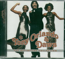TONY ORLANDO & DAWN CD 1998 - THE DEFINITIVE COLLECTION - USED - LIKE NEW