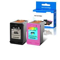 2PK 61XL Black &Color Ink Cartridges For HP Deskjet 2510 3000 3510 ENVY 4501