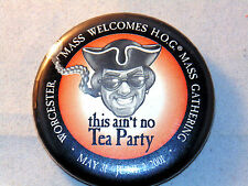 Worcester, Mass. Welcomes H.O.G. Mass. Gathering May 31 - June 2, 2001 Button