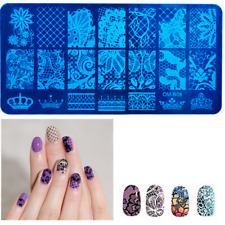 Nail Art Stamp Stencil Stamping Template Plate Tool Stamper Manicure Stencil DIY