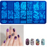 3D Nail Art DIY Transfer Sticker Plates Manicure Template Tool Decal Decoration