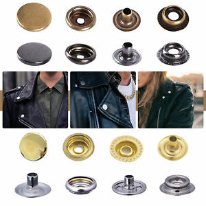 20mm Wide Buttons Press Studs for Sewing Leather Craft Clothing Snap Fasteners