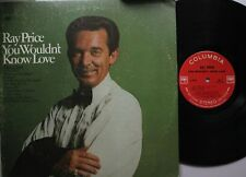 Country Lp Ray Price You Wouldn'T Know Love On Columbia