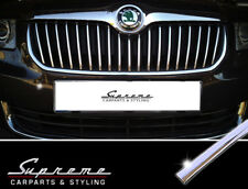 Skoda Superb and Combi II 3T Type Chrome Trim for Radiator Grill Upper 3M