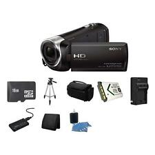 Sony HDR-CX240 Full HD Handycam Camcorder - Black 16GB Package