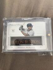 Bryon Buxton Bat Barrel Name Card From national treasures 1/1