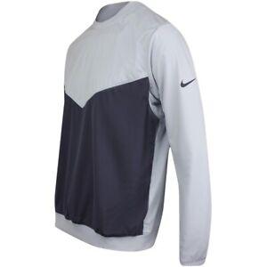 Nike Shield Victory Crew waterproof golf top - adult L