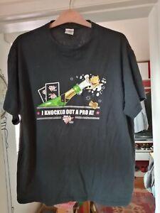 Full Tilt Poker T Shirt I Knocked out a Pro
