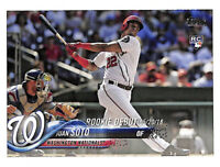 2018 Topps Update #US104 Juan Soto Rookie Debut card Nationals - INVEST