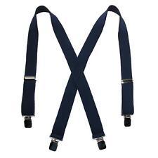 New CTM Men's Terry Casual Elastic Clip-End 1 1/2 Inch Suspenders