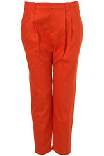 Topshop Orange Tapered Trousers Jeggings Leggings Jeans UK 10 EURO 38 US 6 BNWT