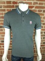 Polo Pepe jeans Jimmy Homme manche courte Gris Slim Fit