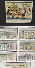 DISNEY GLOBAL WORLDWIDE Vintage Stamp Lot  In MINT Condition! Grenada ~ Maldives