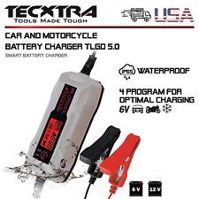 Smart Charger Fast Tecxtra Car Battery 5Amp 6V/12V Wet Vehicles Lcd