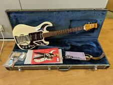 Burns 'The Marvin' 1964 Reissue White Signature Electric Guitar