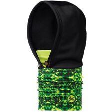 Buff Hood Windstopper Jungle Headwear Neck Warmer , Black x Green