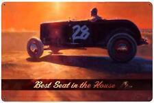 Hot Rod Drag Race Car Metal Sign Man Cave Garage Body Shop Club Tom Fritz TF030