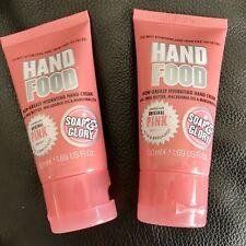 Soap & Glory HAND FOOD Non-Greasy Hydrating Hand Cream,1.69-oz. 50 mL - Lot of 2