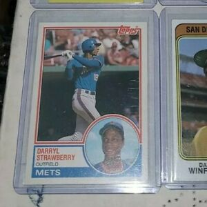 Darryl Strawberry 1983 Topps Traded Rookie Card RC
