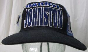 Vintage 1990s Darryl Johnston Hat Cap & Dallas Cowboys Pin Football NFL #48